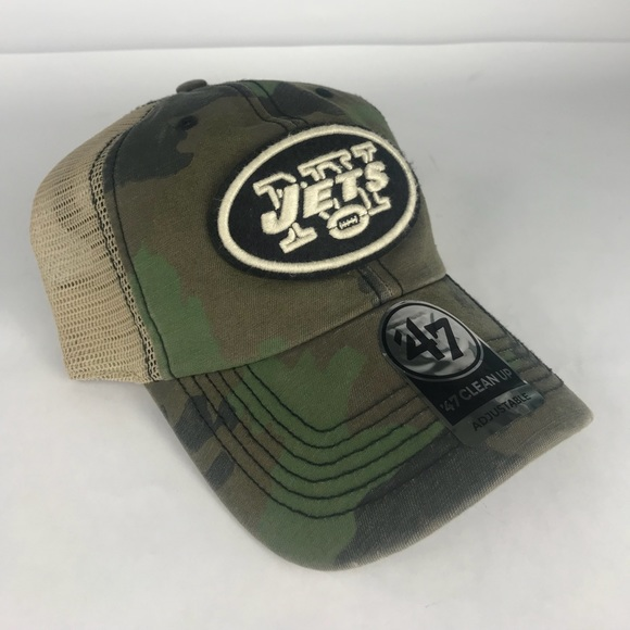 sports shoes e1dd3 9f1df New York Jets NFL  47 Franchise Football Hat Mens